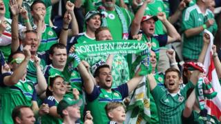 Thousands of Northern Ireland fans travelled to France to follow their side's whirlwind tournament