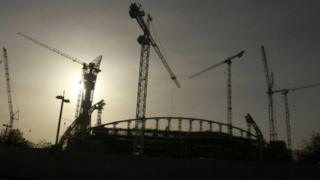 أعمال إنشاءات في قطر لاستضافة كأس العالم 2022
