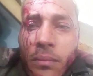 Venezuelan police officer and helicopter pilot, Oscar Perez, in a video obtained on social media, 15 January 2018
