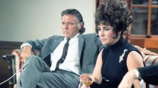 Richard Burton and Elizabeth Taylor in 1967