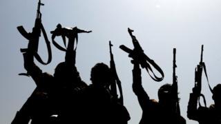 Armed Yemenis