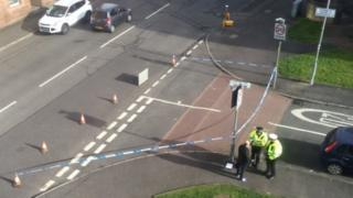 Police incident in Arcadia Street
