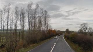 A737 near Lochwinnoch