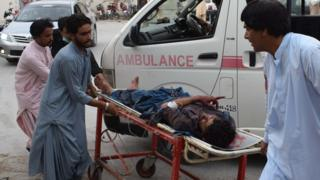 पाकिस्तान विस्फोट