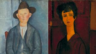 Works by Amedeo Modigliani