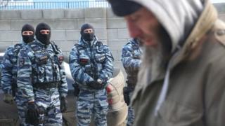 ОМОН в Криму