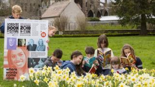 Borders Book Festival launch