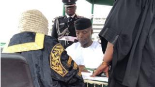 Igbakeji aarẹ Yemi Osinbajo naa se ibura