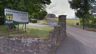 Saint joseph's school entrance