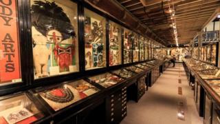 в музее Питта Риверса