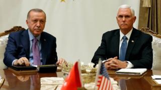 پنس و اردوغان