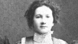 Jenny McCallum had worked in a linen factory before becoming a suffragette