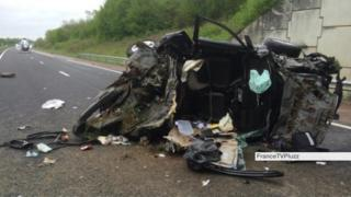 Dijon car crash