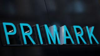 A Primark sign