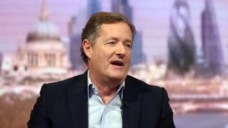 英国独立电视台《早安英国》主播皮尔斯·摩根