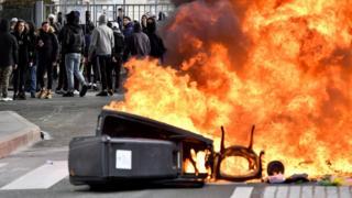 اعتراضها در بوردو