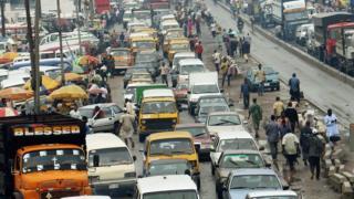 Traffic for Lagos, Nigeria