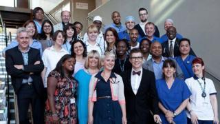 The NHS choir