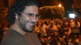 المدون المصري علاء عبد الفتاح حر