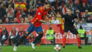 Spain, Sergio Ramos