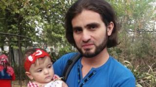 Абдулкафи с дочерью Ламар