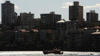 A view of apartments at Kirribilli, Sydney
