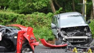 A21 collision