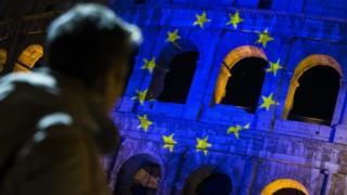 شصتمین سالگرد تاسیس اتحادیه اروپا