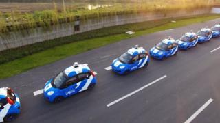 Baidu fund heats up driverless race