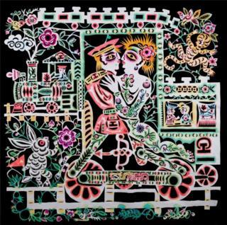 Artwork by Chinese gay farmer Xiyadie
