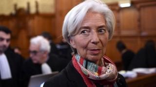 Umukuru w'ikigega mpuzamahanga cy'imali, Christine Lagarde.