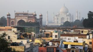 La ciudad india de Agra