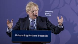 Boris Johnson sets out the UK's negotiating position