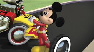 Still from Mickey and the Roadster Racers.