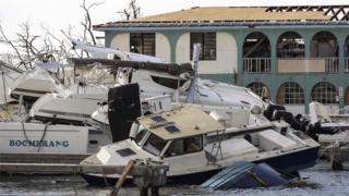 Hurricane Irma: Boris Johnson to fly to battered Caribbean