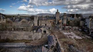 Victorian Denbigh asylum to be turned into 300 homes