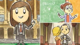 Grace's Big Idea illustrations