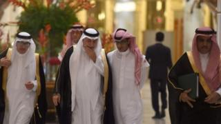 Gulf finance ministers meeting in Riyadh