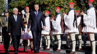 Erdoğan ve Pavlopulos