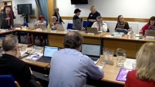 NHS meeting