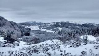 up the hills of Aberfoyle and the Trossachs.