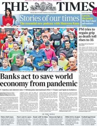 The Times 16 March