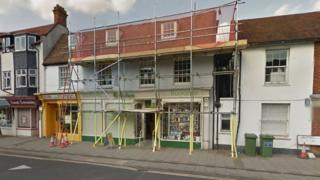 Thame's Oxfam charity shop