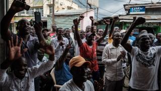 Zanga zanga kan zaben shugaban kasar Kenya