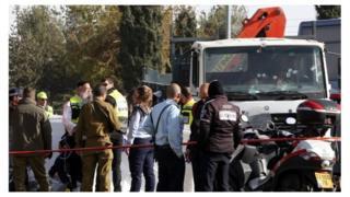 耶路撒冷卡车冲撞人群