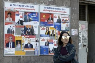 انتخابات در ارمنستان