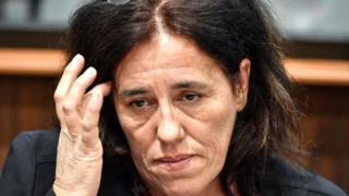 Роза Мария Круз в суде