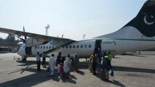 پی آئی اے کا بدقسمت طیارہ جو چترال سے آتے ہوئے تباہ ہو گیا