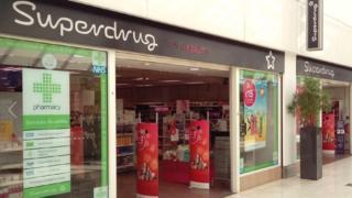 Superdrug in Derby's Intu shopping centre