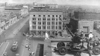 Москва, осень 1941 года